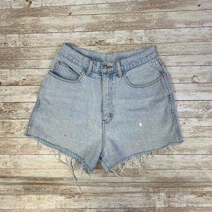 Vintage Bill Blass High Waisted Mom Jean Shorts